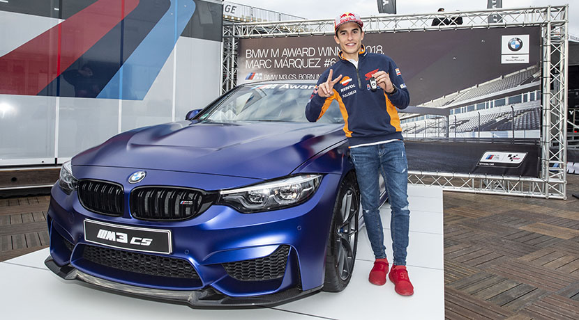 Marc Márquez wins his sixth BMW M Award