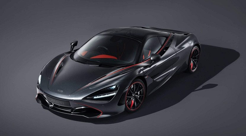 Front of the McLaren 720S Stealth MSO