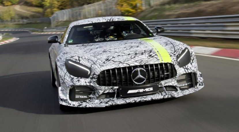 Mercedes-AMG GT R PRO: The new beast to be presented in Los Angeles